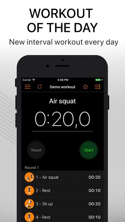 Workout Timer - tabata hiit screenshot-3