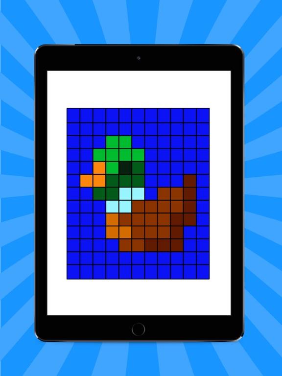 3D Pixel Art: 数字で色ぬりのおすすめ画像8