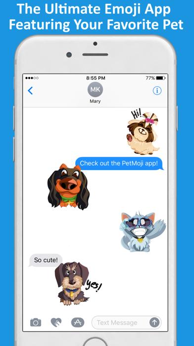 PetMoji Emoji Sticker Maker screenshot one