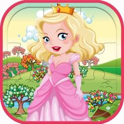 Puzzle Princess Jigsaws Cartoon Fairy Girls Game