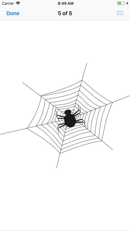 My Spiderweb Sticker Pack screenshot-5