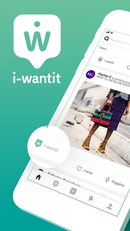 i-wantit : wishlist & gifts screenshot-0