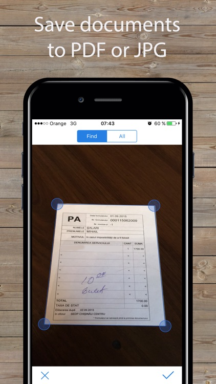 ScanPlus Pro - PDF Document Scanner App