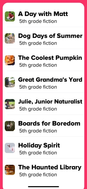 5th Grade Reading Prep Screenshot
