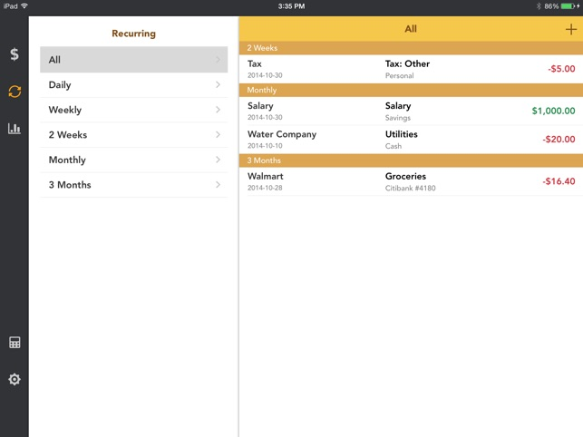 checkbook account tracker on the app store