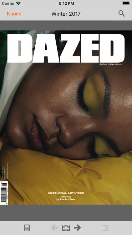 Dazed Magazine screenshot-4