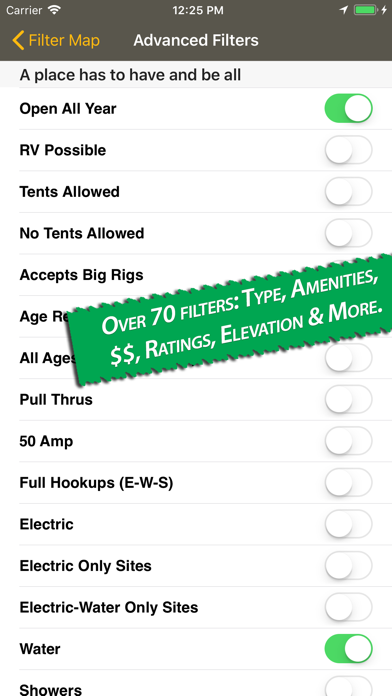 Camp & RV - Tents to RV Parks Screenshot