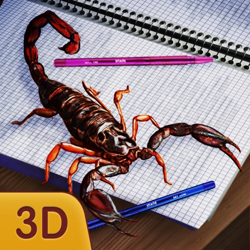 Scorpion Home Pet Simulator 3D iOS App