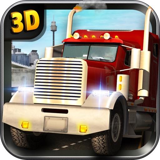 Heavy Duty Truck Simulator – диск ваш трейлердорога через реалистичные города движениятранспортных средств в сложной игре