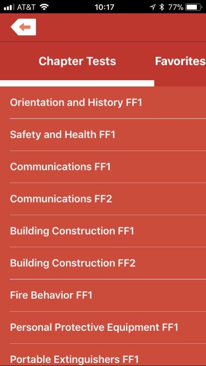 Firefighting I/II Exam Prep