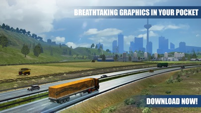 Truck Simulator PRO Europe screenshot 5