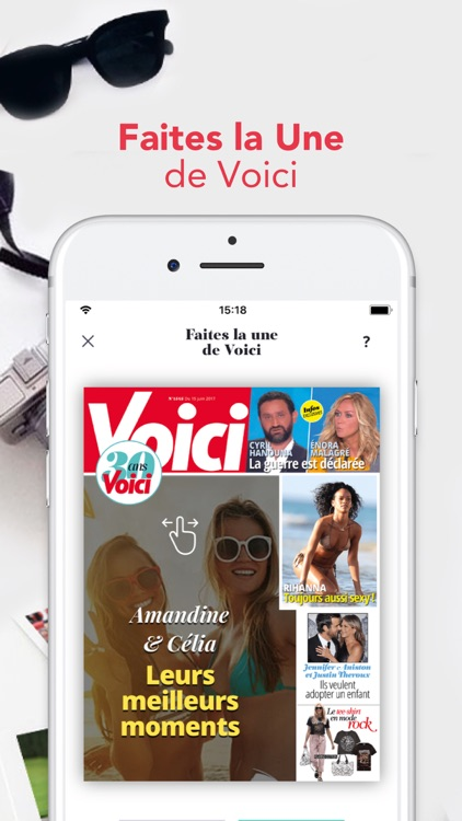 Voici News : Actu people screenshot-3