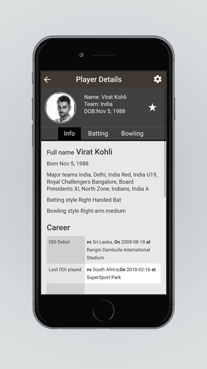 Sify Cricket Live Scores screenshot-3
