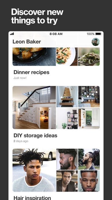 Screenshot for Pinterest: Lifestyle Ideas in Hong Kong App Store