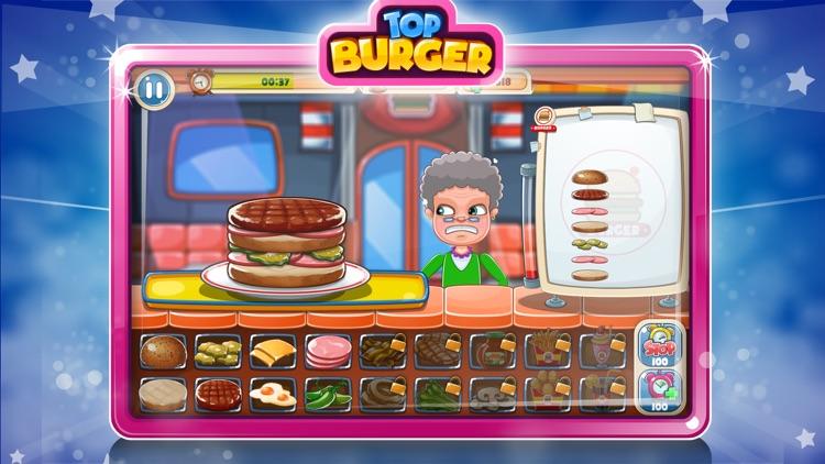 Top Burger Chef – Cooking Game screenshot-4