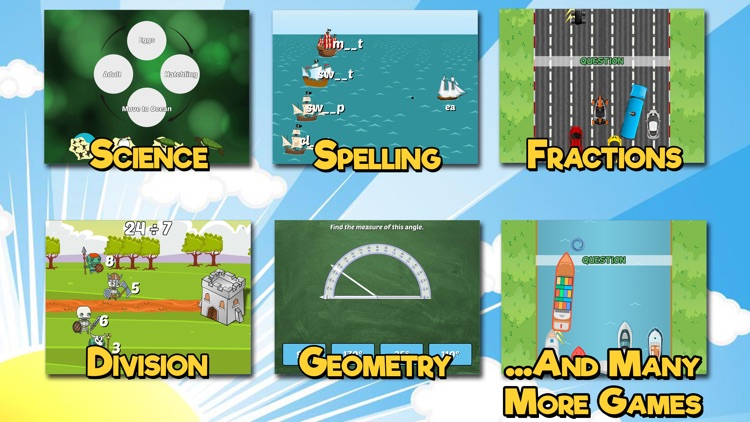Fourth Grade Learning Games SE screenshot-1