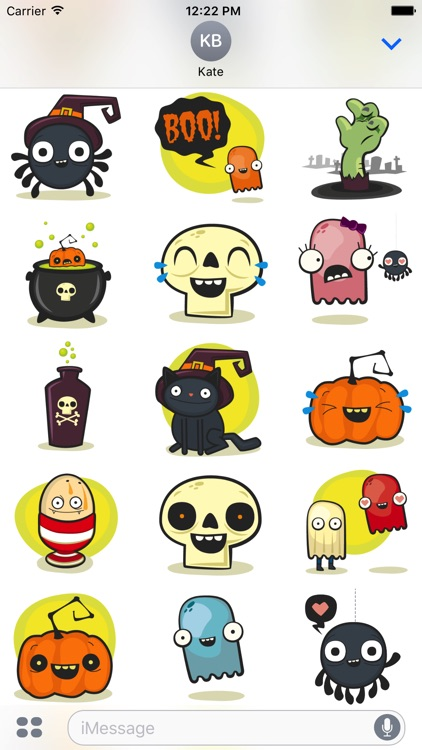 Halloween - Cute Sticker Pack screenshot-3