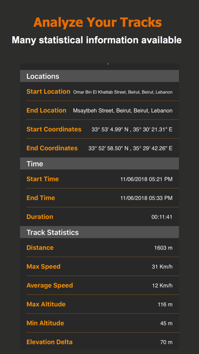 Track Me GPS screenshot four