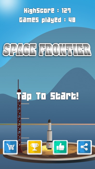 Space Frontier - launch the rocket