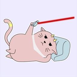 Alien Cat Animated Stickers