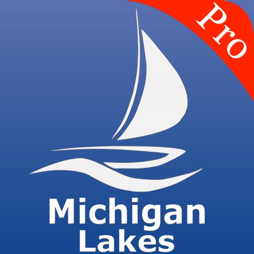 Michigan Lakes GPS Charts Pro