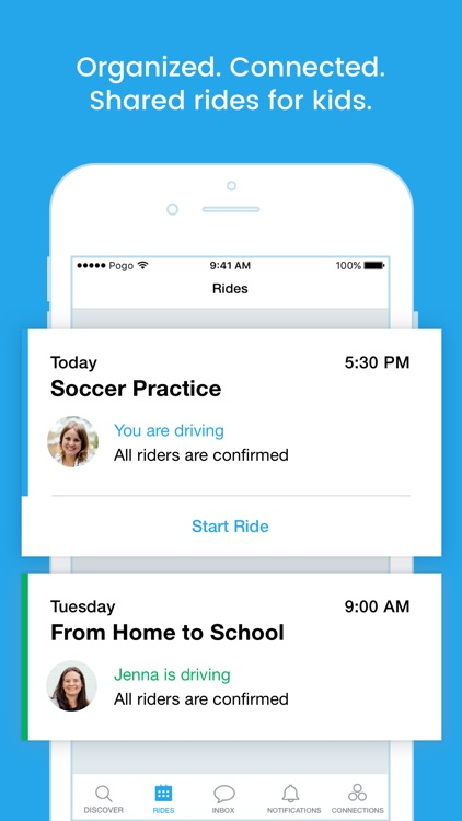 Pogo - Trusted Carpool Rides