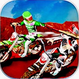 Dirt Bike Road Fight Racing