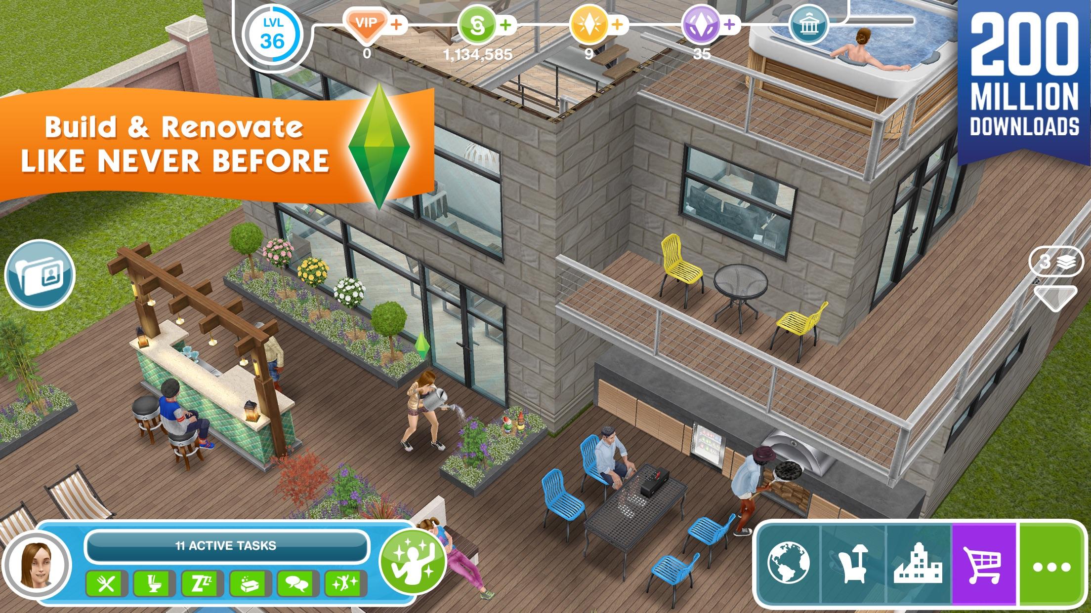 The Sims™ FreePlay Screenshot
