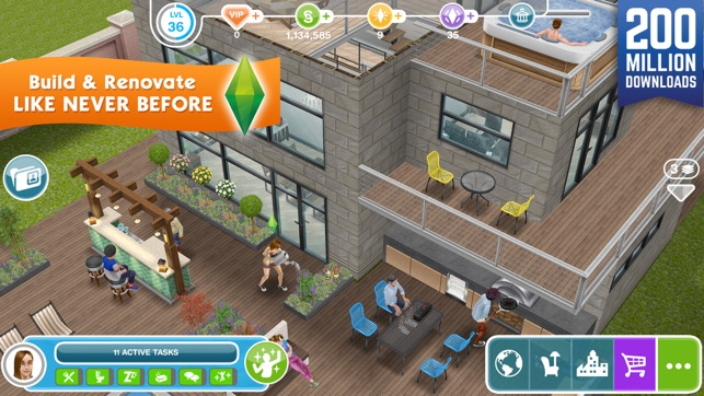 Download the sims™ freeplay for pc and mac.