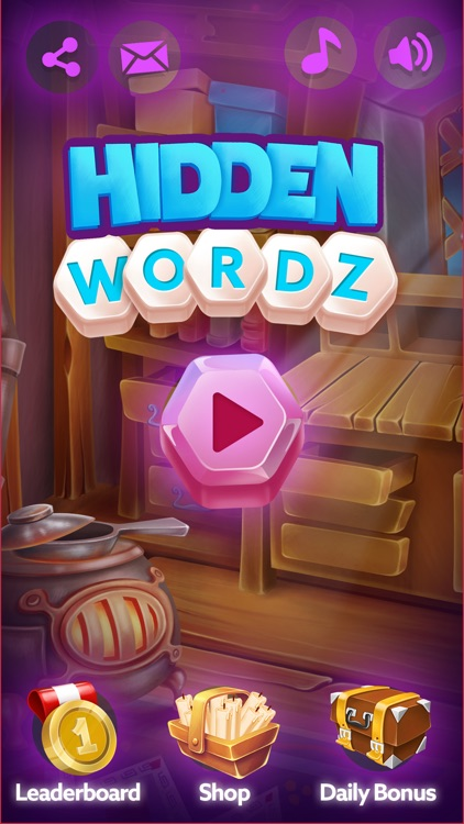 Hidden Wordz - Word Game screenshot-4