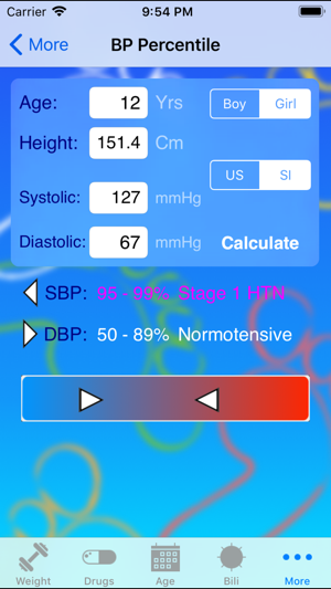 Pedi QuikCalc On The App Store - Height checking app