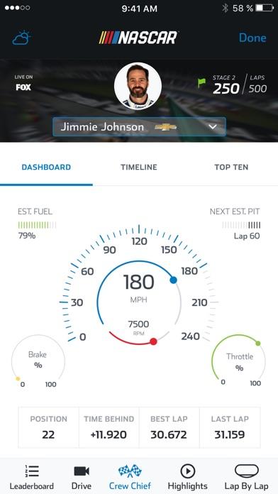 NASCAR MOBILE Screenshots