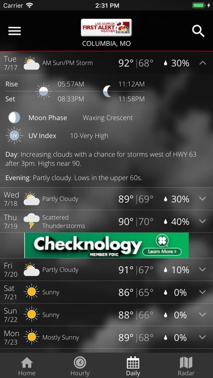 KOMU Weather App screenshot-4