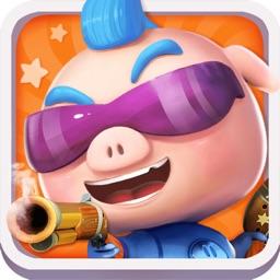 猪猪侠之五灵保卫战-百变英雄策略塔防类游戏