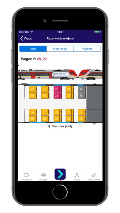 KOLEO - rozkład PKP i bilety screenshot four