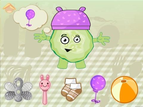 Screenshot #6 pour Les légumes drôles! Jeux éducatifs pour les enfant