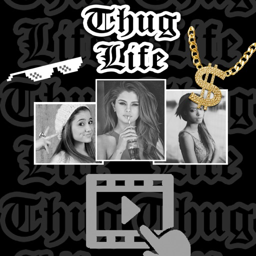Thug Life video maker music