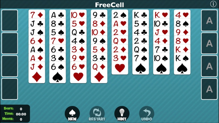 FreeCell [Pokami] screenshot-0