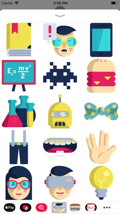 Nerd Sticker Pack