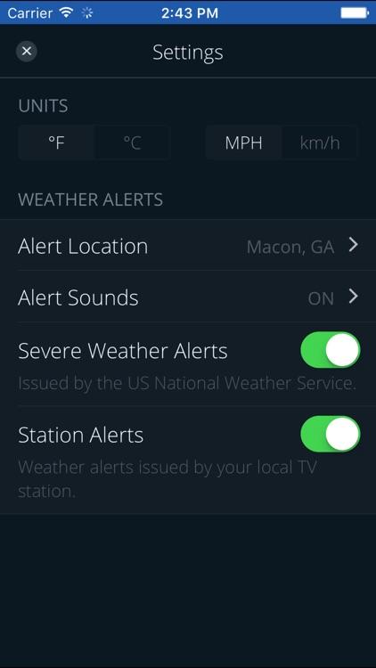 WGXA Weather screenshot-4