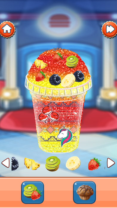 Ice Slushy Maker Rainbow Screenshot