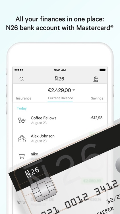 N26 – The Mobile Bank screenshot-0