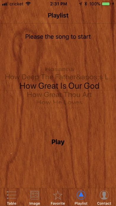 Christian Song screenshot four