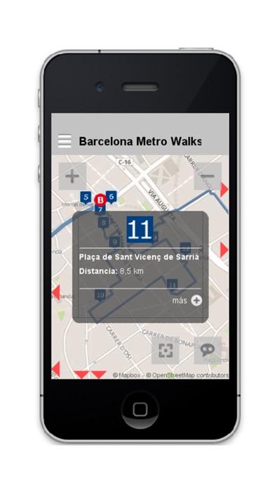 Barcelona Metro Walks - ES screenshot three