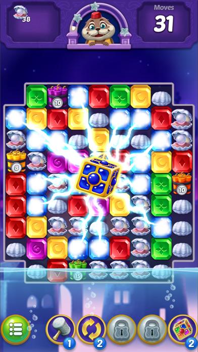 Jewel Pop : Treasure Island Screenshot 1
