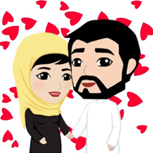 dating arab stickers iMessage