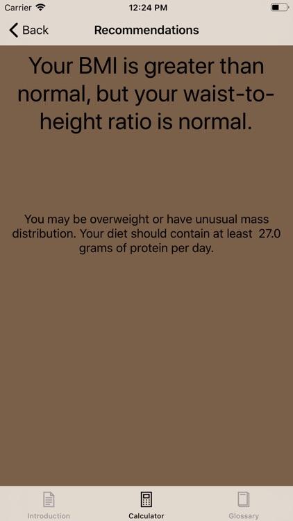 BMI & Body Fat Calculator screenshot-3