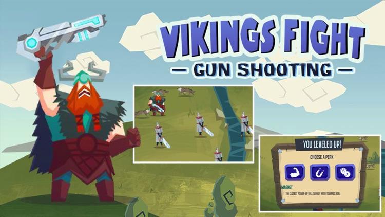 Vikings Fight:Gun Shooting
