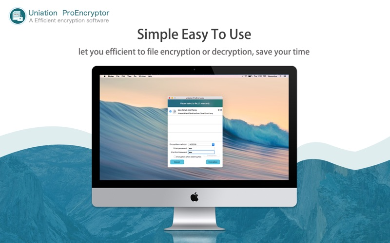 ProEncryptor -Security Screenshots