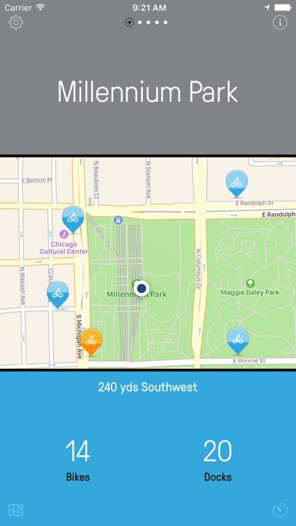 Chicago Bikes — A One-Tap Divvy Bike App